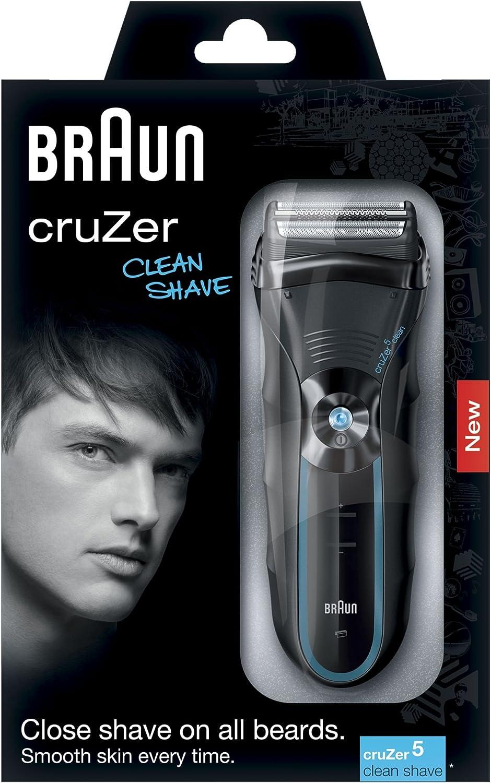 Braun cruZer5 Clean Shave - Afeitadora eléctrica con recortadora ...