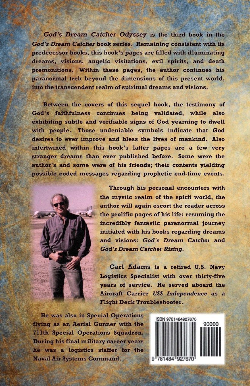 God's Dream Catcher Odyssey (Volume 3): Carl L. Adams: 9781484927670:  Amazon.com: Books
