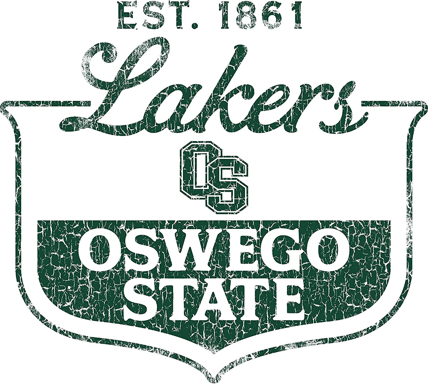 NCAA Oswego State Lakers 03osw-1 Toddler Long-Sleeve T-Shirt