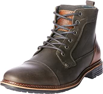 Wild Rhino Men's Clifton Shoes, Dark Grey, 10 AU (44 EU)