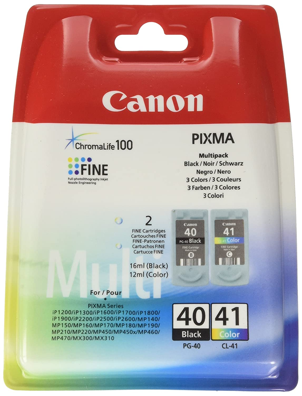 Canon CL-41 Cartucho de tinta original Tricolor para Impresora de ...