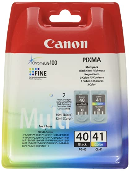 Canon PG-40+CL-41 Cartuchos de tinta original BK+Tricolor para ...