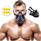 Training Mask | Sport Workout for Running Biking Fitness Jogging Cardio Endurance Exercise Breathing with Air Flow Level Regulator for Men Women | Simulate High Altitude Elevation Effects by Veoxline
