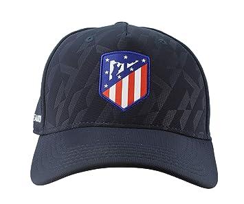 Atlético de Madrid Gorra Adulto Azul Marino Producto Oficial - Nuevo Escudo: Amazon.es: Deportes y aire libre
