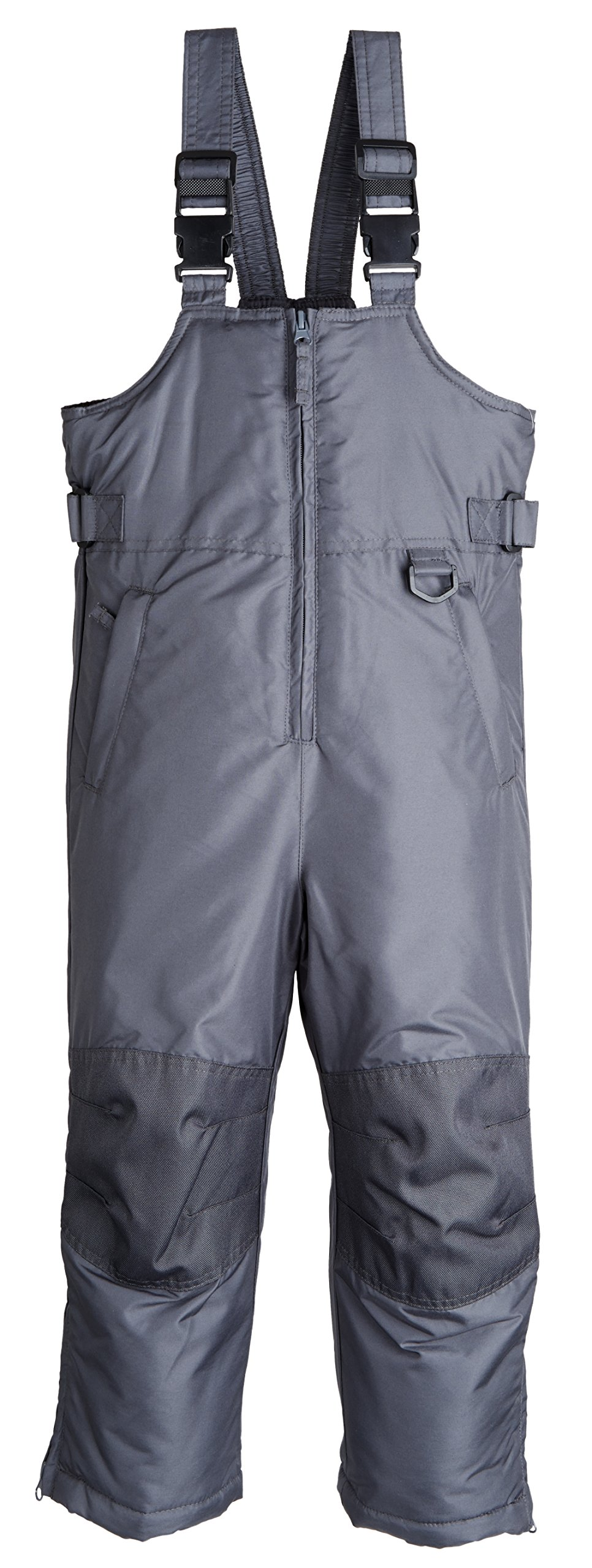 iXtreme Kids Water Resistant Insulated Snowboard Snowpants Pant Snowbib Snow Bib - Grey (Size 16/18) by iXtreme