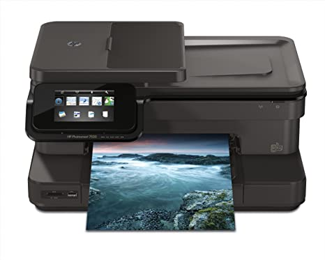 HP Photosmart 7520 - Impresora multifunción de tinta (B/N 14 PPM, color 10 PPM) (importado)