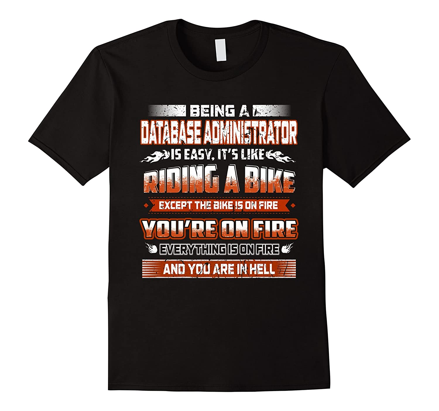 being a Database Administrator like riding a bike on hell-PL