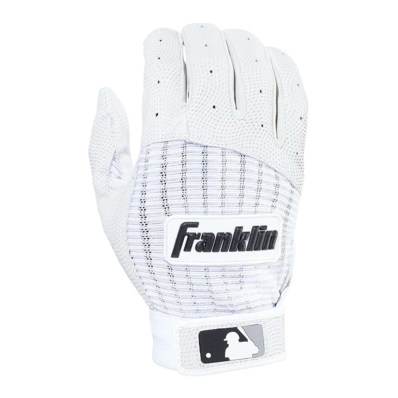 Franklin Sports MLBプロクラシック バッティンググローブ ペア B013LPTS6M Small|Pearl/White Pearl/White Small
