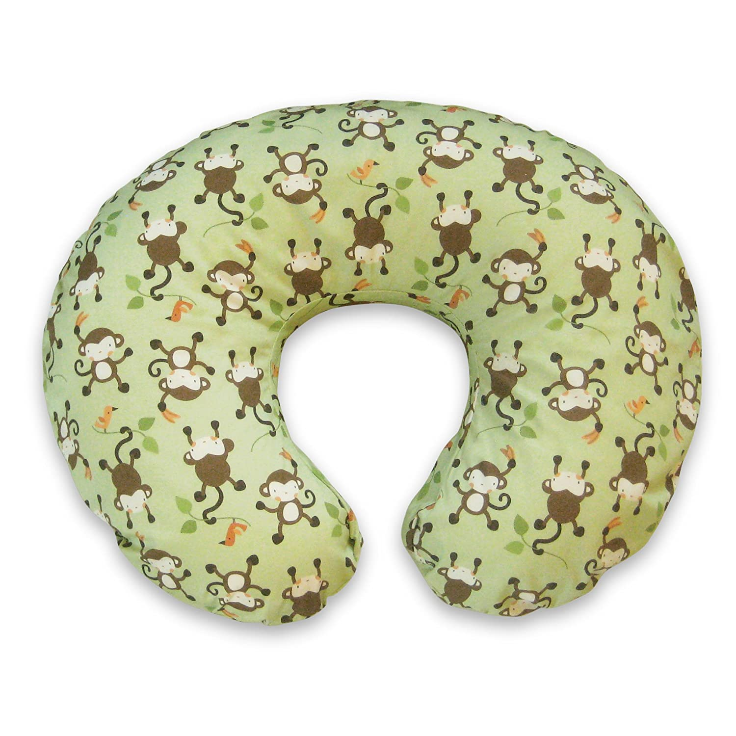 Boppy Pillow Slipcover, Classic Monkey Business/Green 3100121K 6PK