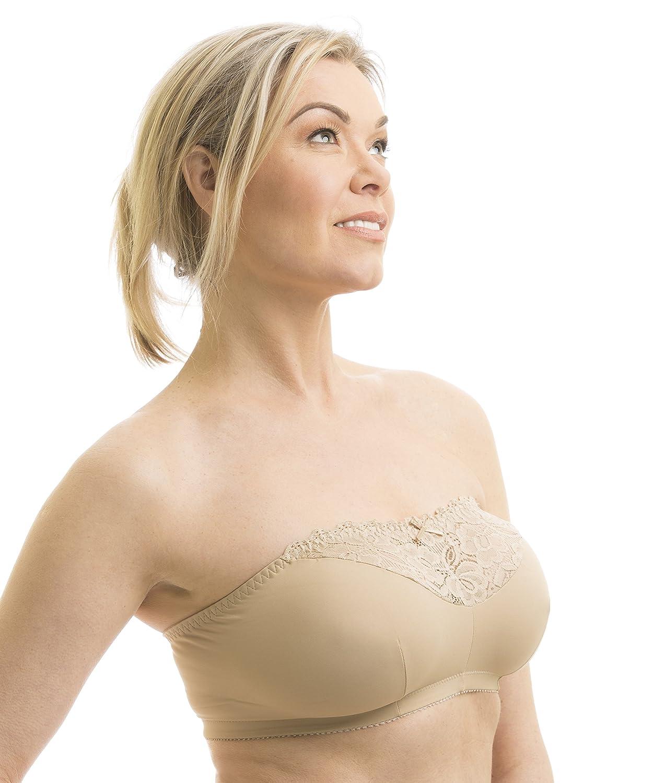 Carole Martin Women's Strapless Comfort Bra at Amazon Women's ...