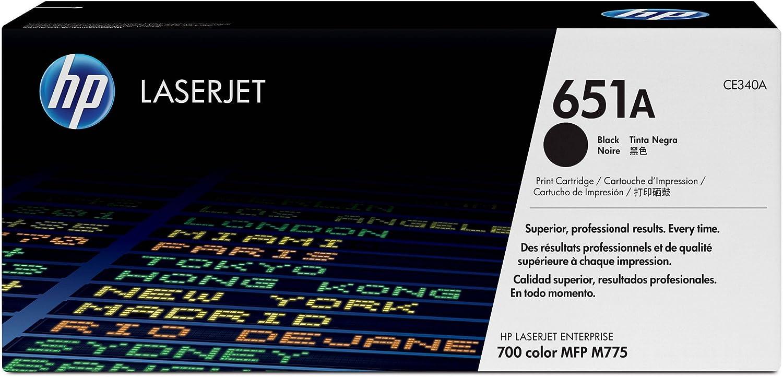 HP 651A | CE340A | Toner Cartridge | Black