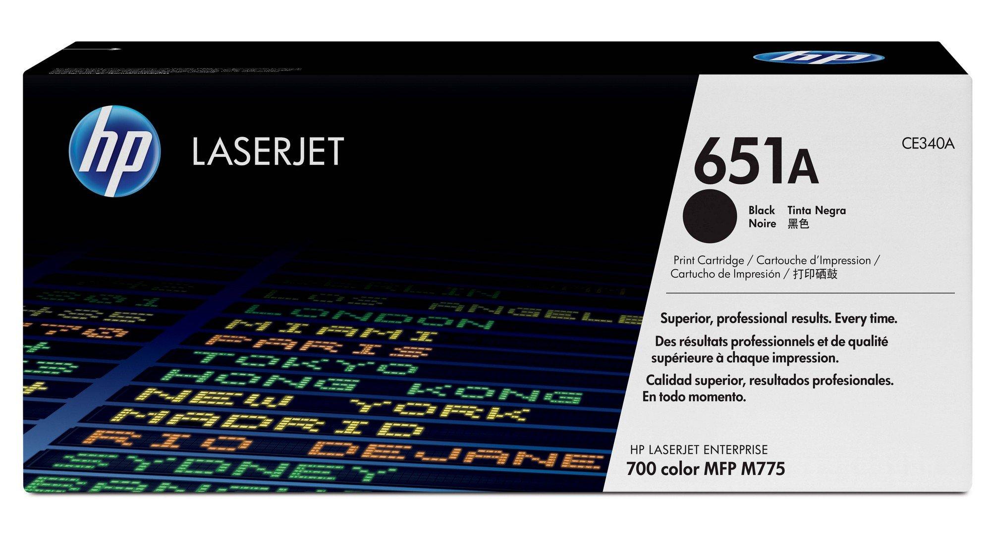 Toner Original HP 651A CE340A Black