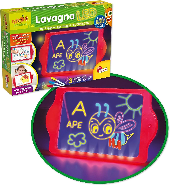 Liscianigiochi Carotina Lavagna Led Edizione 2018 Multicolore 68609 Amazon It Giochi E Giocattoli