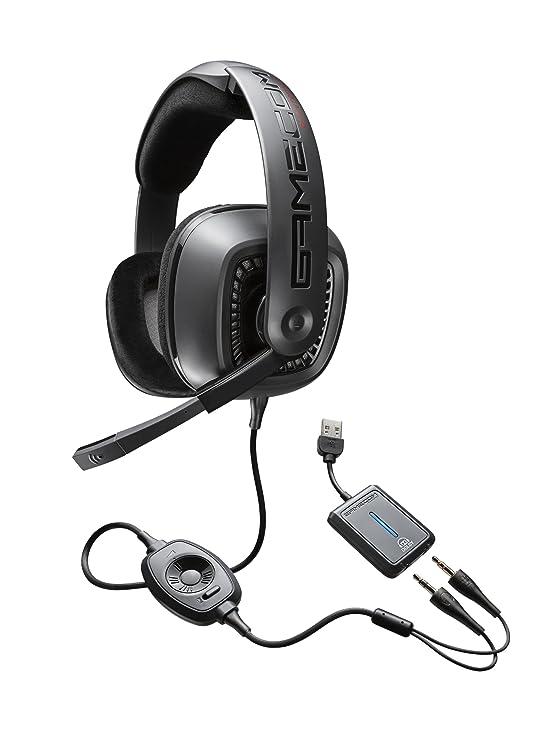 Amazon Com Plantronics Gamecom777 Gaming Headset Electronics