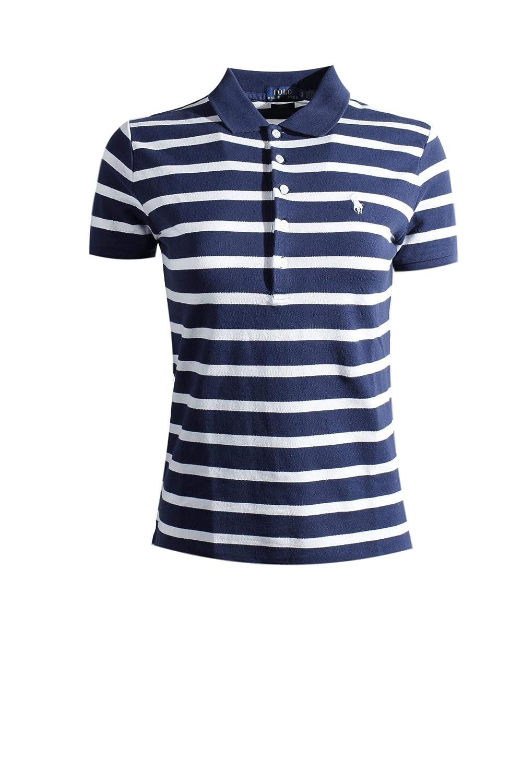 824c9fd88 Ralph Lauren Polo Womens Slim Fit Mesh 5 Button Polo Shirt at Amazon  Women's Clothing store: