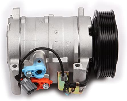 INEEDUP AC Compressor and A//C Clutch for 03-07 Honda Accord 2.4L CO 28003C