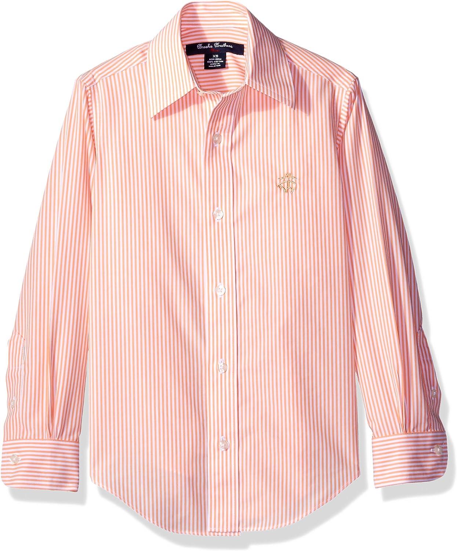 Brooks Brothers Niños 1000032819 Camisa de botones - Naranja - X-Large: Amazon.es: Ropa y accesorios