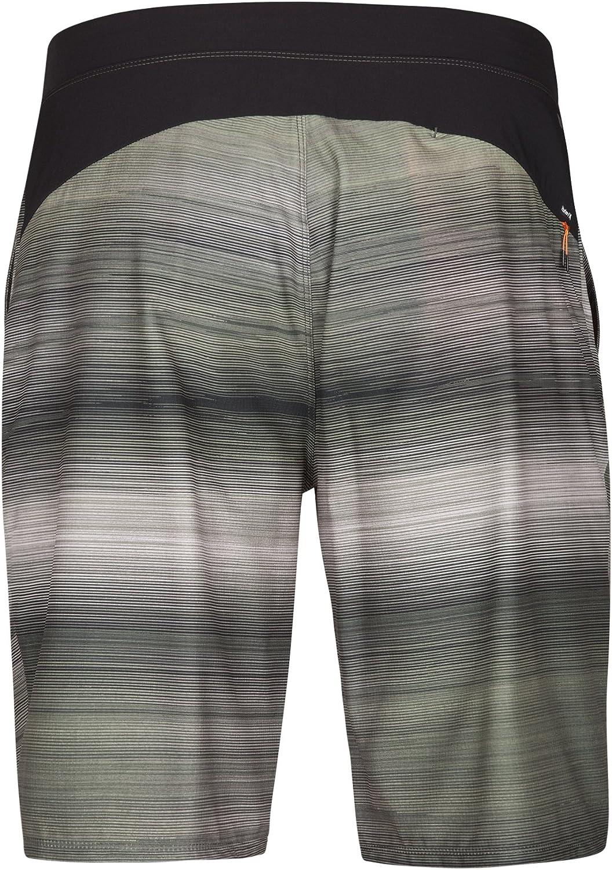XL Med Olive Hurley MWS0005460 Mens Alpha Trainer Walkshort