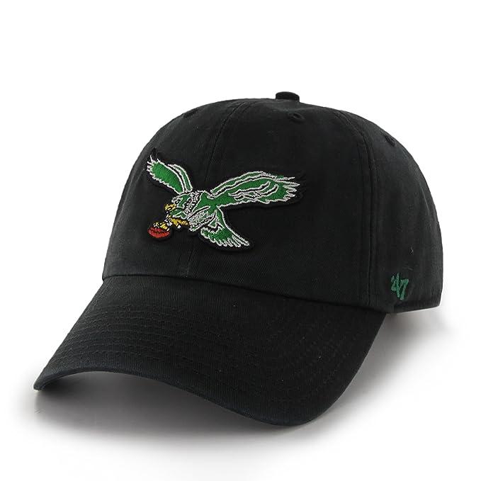 7ceec2ae NFL Philadelphia Eagles Clean Up Adjustable Hat, One Size, Black