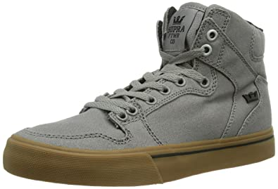 SUPRA Vaider Sneakers Grey Fashion Shoes Hot Sale Cheapest Price Save Over 50%