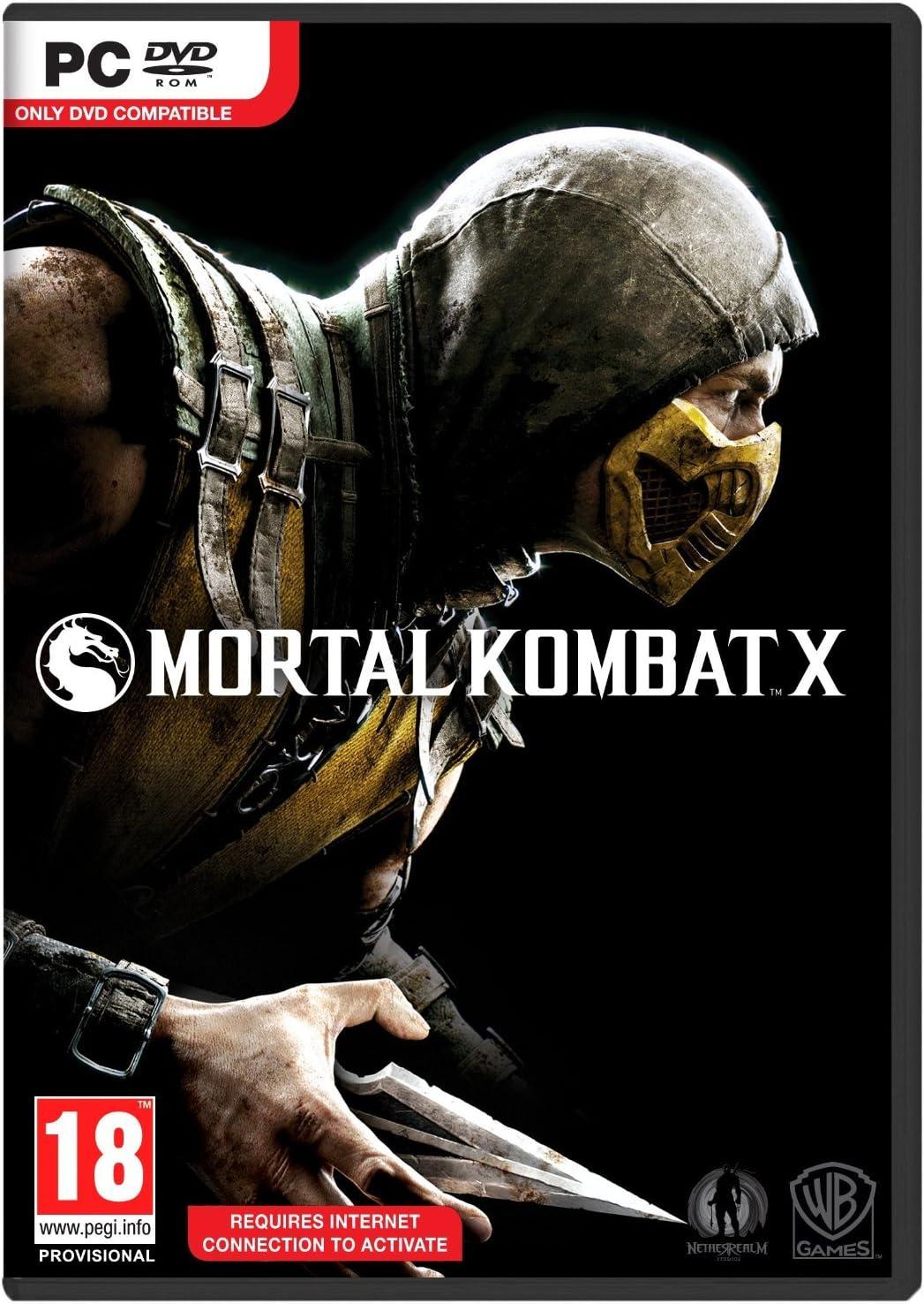 Mortal Kombat X PC [Importación Inglesa]: Amazon.es: Videojuegos