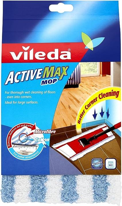 Vileda Active Max Flat Mop Refill Pad Amazon Co Uk Kitchen Home