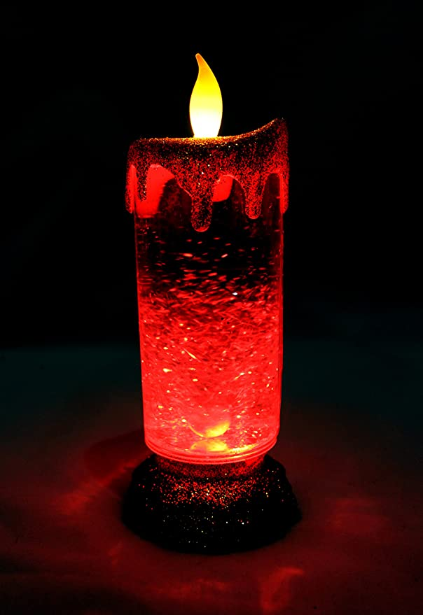 LAJIOJIO boda velas el/éctricas fiesta decoraci/ón para Navidad luz blanca c/álida Navidad pilas incluidas Pascua Juego de 12 velas LED sin llama