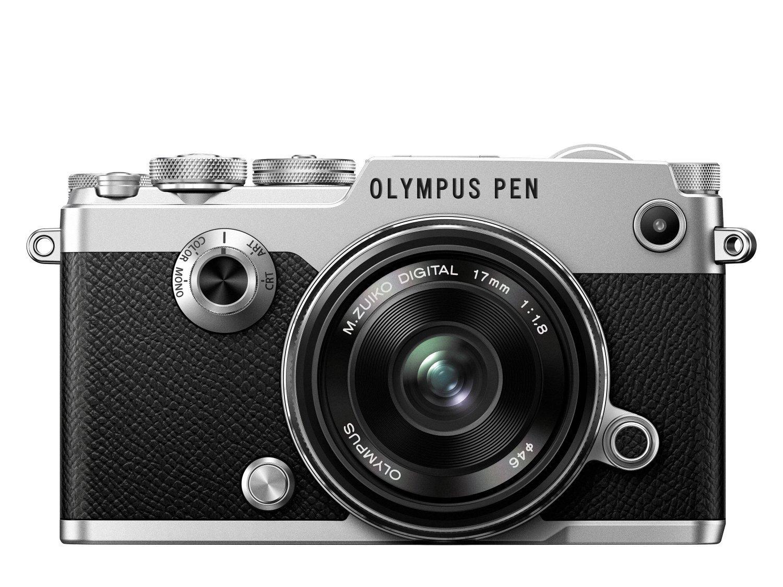 Digital Cameras OLYMPUS PENF SILVER 20MPIXELS KIT 17MM