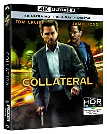 Action-Thriller COLLATERAL arrives on 4K Ultra HD for the First Time Dec. 8 from Paramount