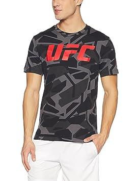 Reebok UFC FG Smash Camo SS tee Camiseta, Hombre, Negro (Negro), XS: Amazon.es: Deportes y aire libre
