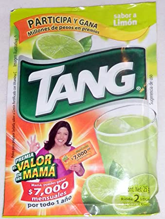 3 X Tang Limon Flavor No Sugar Needed Makes 2 Liters of Drink 15g From Mexico