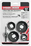 Black & Decker 71-120 Hole Saw Assortment, 5-Piece
