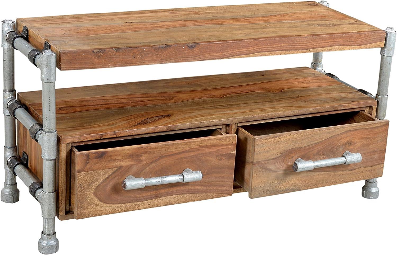 Sit-Möbel 4915-01 TV - mueble para televisor de tubo, 102 x 40 x 55 cm, colour blanco y negro: Amazon.es: Juguetes y juegos