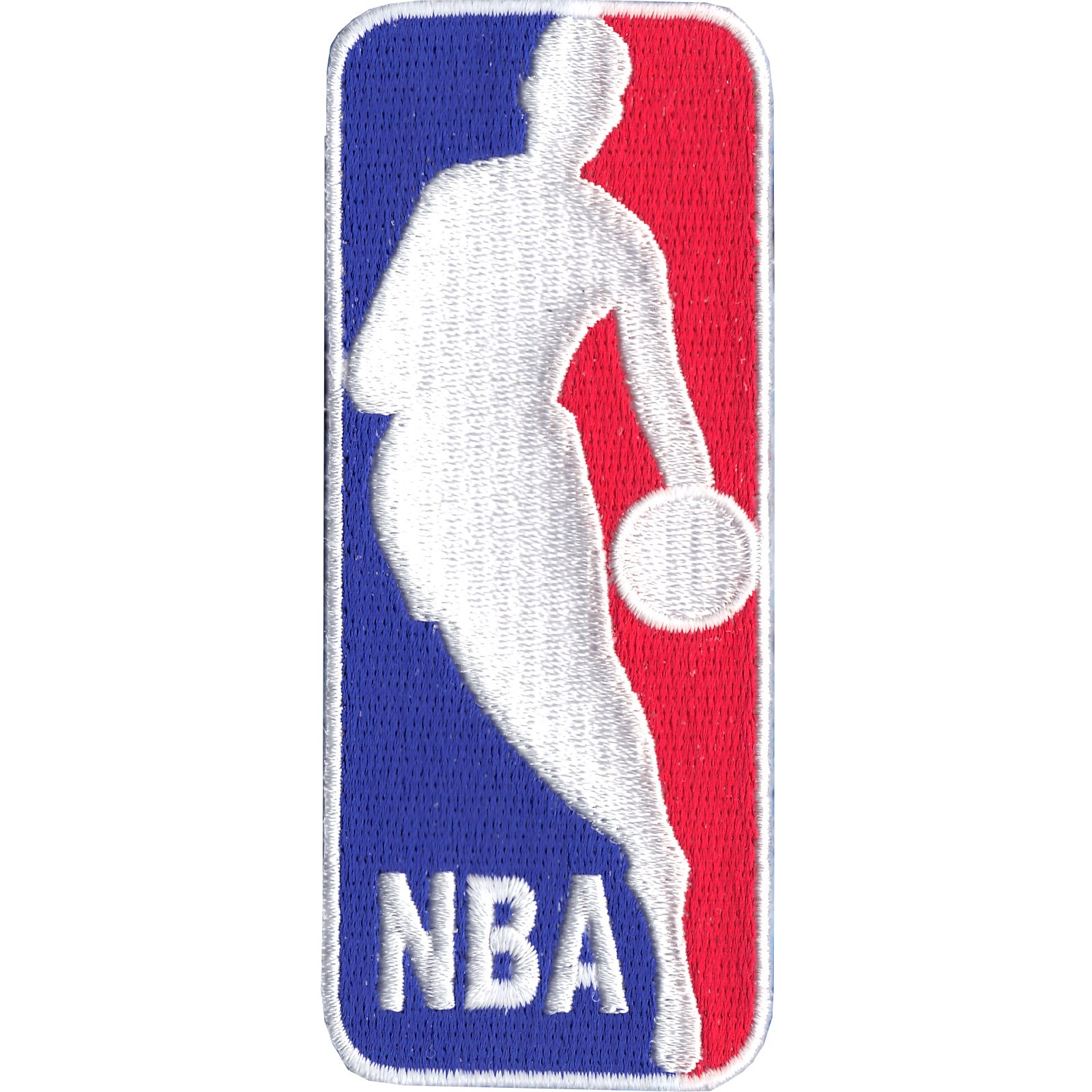 Official NBA Basketball League Large Logo 'Jerry West' Patch