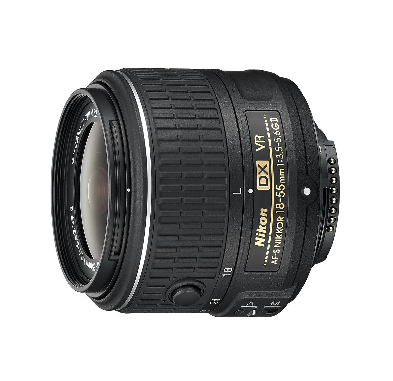 Nikon AF-S Nikkor DX 18-55mm 1:3,5-5,6G VR II Objektiv: Amazon.de: Kamera