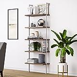 Amazon Com Rivet Meeks Round Storage Basket Side Table