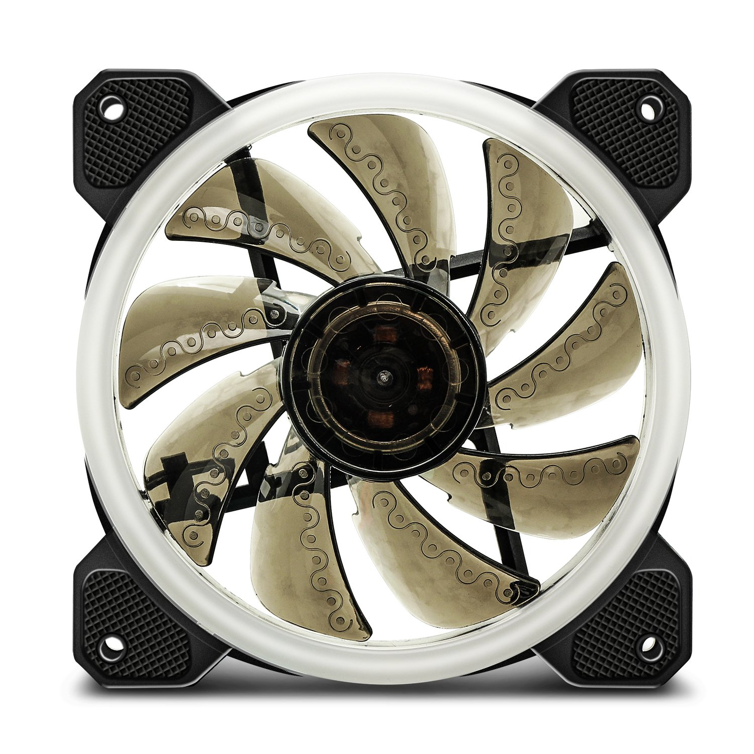 Aigo Aurora DR12 3IN1 Kit Case Fan 3-Pack RGB LED 120mm High Performance High Airflow Adjustable colorful PC CPU Computer Case Cooling Cooler with Controller (DR12 3IN1) by Aigo (Image #8)