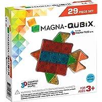 Magna-Qubix™ 29-Piece Clear Colors Set, The Original, Award-Winning Magnetic 3D Building Shapes