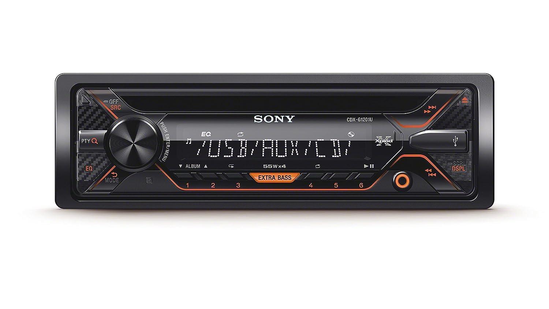 Sony CDX-G1201U R.CD MP3 con Entrada aux y USB Frontal CDXG1201U.EUR