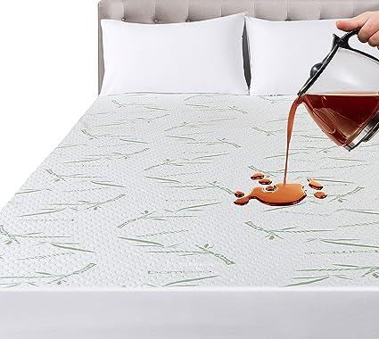 Hauteur du... Utopia Bedding Protège-Matelas zippé étanche de Haute qualité