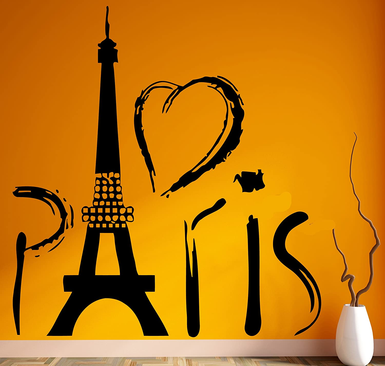 Amazon.com: Paris Eiffel Tower Europe Tourist Mural Wall Art Decor ...