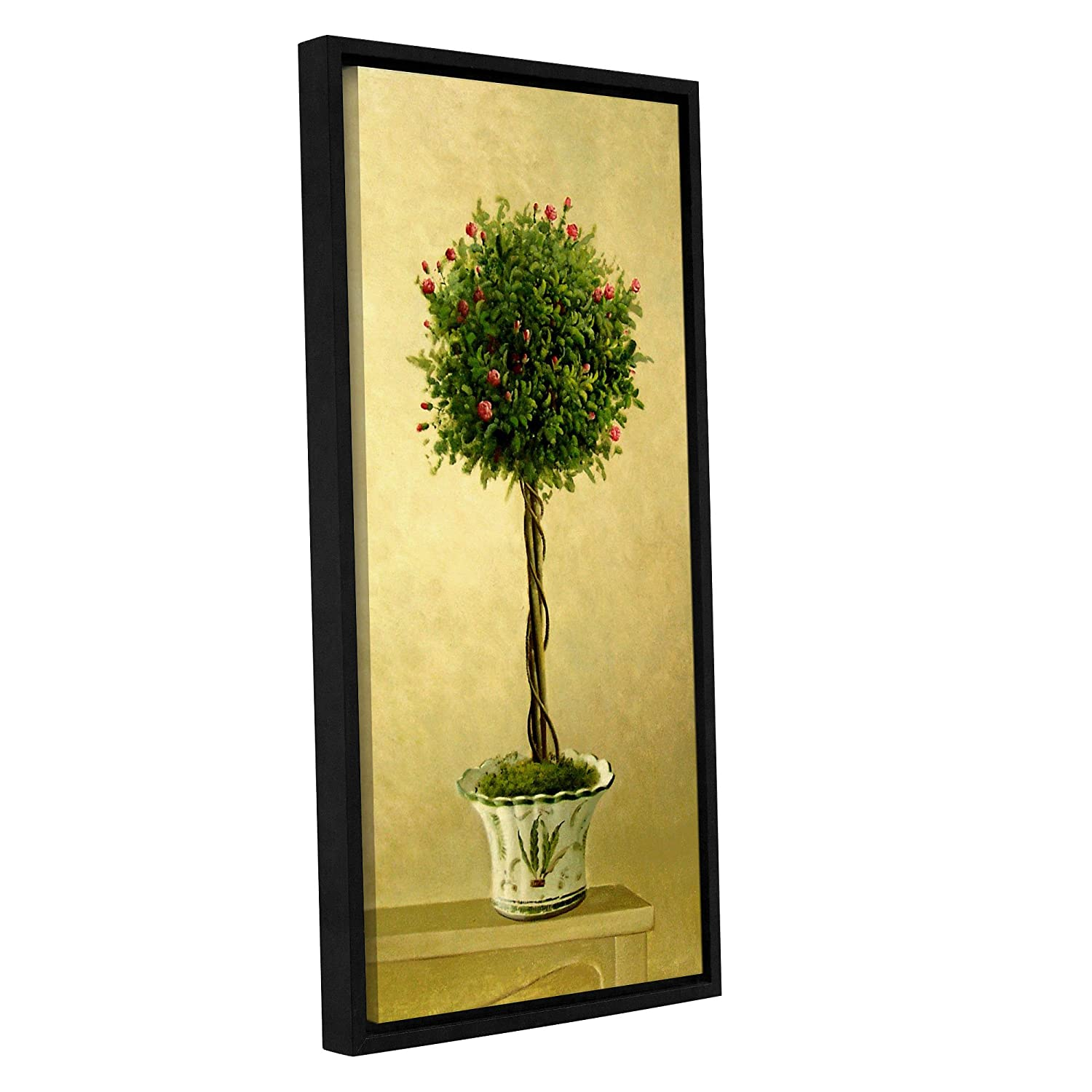 Amazon.com: Welby \'\'Rose Topiary I\'\' Removable Wall Art Mural, 12X24 ...