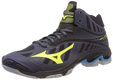 0380f9a6a707 Mizuno Men s s Wave Lightning Z4 Mid Volleyball Shoes  Amazon.co.uk ...