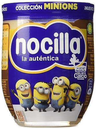 Nocilla La auténtica - (Duo) Doble Crema de cacao y leche con avellanas,