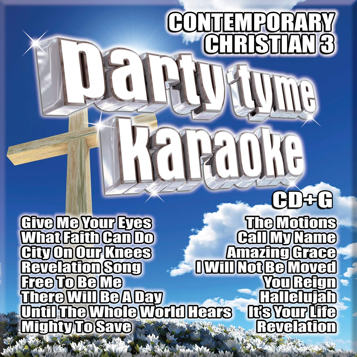 Party Tyme Karaoke - Contemporary Christian 3 (16-song CD+G) by Sybersound