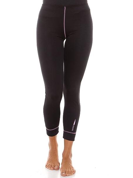 Unno Thermal, Pantalon Thermal Para Mujer, Negro, M