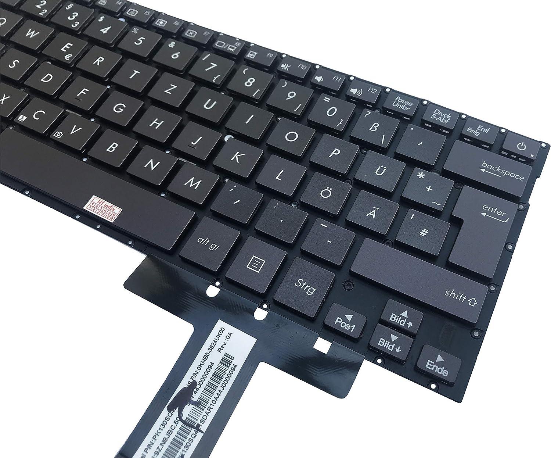 UX31 UX31LA f/ür Asus ZenBook Prime UX31A Deutsche Tastatur ohne Beleuchtung ohne Rahmen UX31E