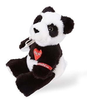 Heinrich Bauer Pia Pia Club 17127 - Oso panda de peluche sentado, 17 cm [