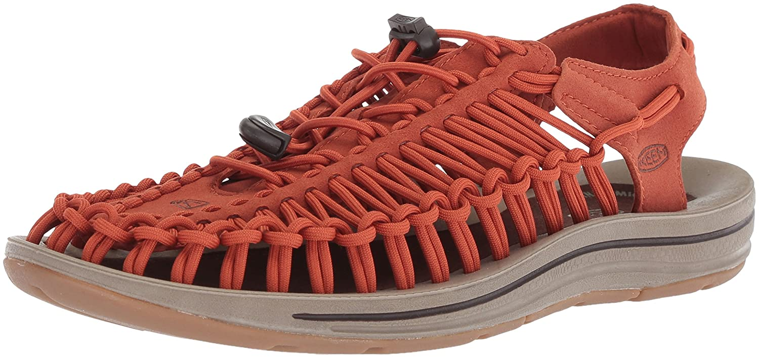 KEEN Uneek Sandals Men Orange Shoe Size US 10