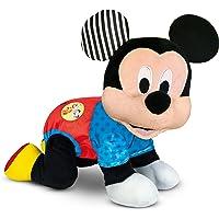 Baby Clementoni - 17237 - Baby Mickey Gattona con Me - Disney